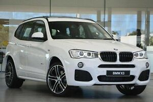 2016 BMW X3 F25 LCI xDrive20d Steptronic White 8 Speed Automatic Wagon Wangara Wanneroo Area Preview