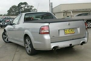 2013 Holden Ute VF MY14 SV6 Ute Silver 6 Speed Sports Automatic Utility Pennant Hills Hornsby Area Preview