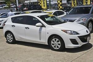 2010 Mazda 3 BL10F1 MY10 Neo Activematic White 5 Speed Sports Automatic Hatchback Mount Gravatt Brisbane South East Preview