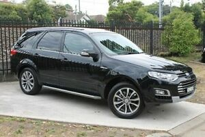 2016 Ford Territory SZ MkII Titanium Seq Sport Shift Black 6 Speed Sports Automatic Wagon Wolli Creek Rockdale Area Preview