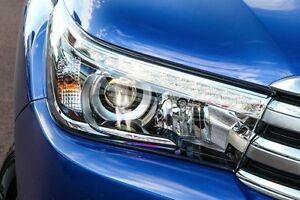 2015 Toyota Hilux GUN126R SR5 Double Cab Nebula Blue 6 Speed Sports Automatic Utility Wangara Wanneroo Area Preview