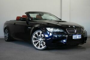 2009 BMW M3 E93 M-DCT Black 7 Speed Sports Automatic Dual Clutch Convertible Bayswater Bayswater Area Preview