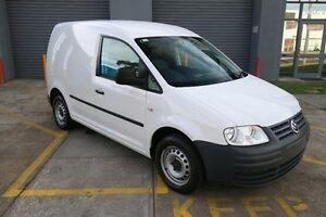 2009 Volkswagen Caddy 2KN SWB White 5 Speed Manual Van Heatherton Kingston Area Preview