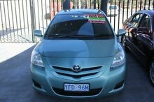2007 Toyota Yaris NCP93R YRS Mint Green 4 Speed Automatic Sedan Mitchell Gungahlin Area Preview