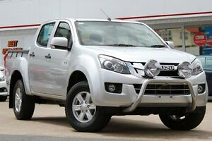 2013 Isuzu D-MAX MY12 LS-M Crew Cab Silver 5 Speed Manual Utility Woolloongabba Brisbane South West Preview
