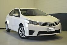 2014 Toyota Corolla  White Constant Variable Sedan Nailsworth Prospect Area Preview