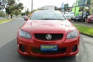 2011 Holden Commodore VE II MY12 SV6 Red 6 Speed Manual Sedan West Footscray Maribyrnong Area Preview