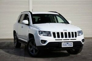 2015 Jeep Compass MK MY15 North White 6 Speed Sports Automatic Wagon Seaford Frankston Area Preview