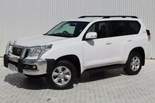 2013 Toyota Landcruiser Prado KDJ150R GXL White 6 Speed Manual Wagon Embleton Bayswater Area Preview