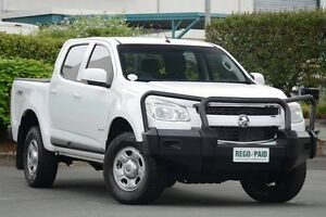 2013 Holden Colorado RG MY13 LX Crew Cab White 6 Speed Sports Automatic Utility Acacia Ridge Brisbane South West Preview