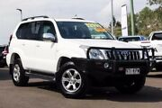 2008 Toyota Landcruiser Prado GRJ120R Grande Crystal Pearl 5 Speed Automatic Wagon Monkland Gympie Area Preview