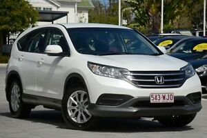 2013 Honda CR-V RM VTi White 5 Speed Automatic Wagon Moorooka Brisbane South West Preview