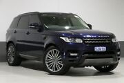 2015 Land Rover Range Rover LW MY15.5 Sport 3.0 TDV6 SE Blue 8 Speed Automatic Wagon Bentley Canning Area Preview