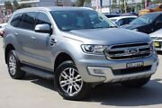 2015 Ford Everest Silver Sports Automatic Wagon Greenacre Bankstown Area Preview
