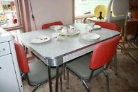 dining tables antic retro $600.00 or Best Offer