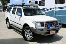 2007 Nissan Navara D40 ST-X (4x4) White 6 Speed Manual Dual Cab Pick-up Cannington Canning Area Preview