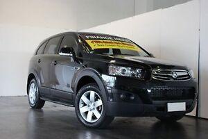 2013 Holden Captiva CG MY12 7 SX (FWD) Black 6 Speed Automatic Wagon Underwood Logan Area Preview