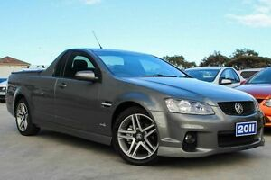 2011 Holden Ute VE II SV6 Grey 6 Speed Manual Utility Craigieburn Hume Area Preview
