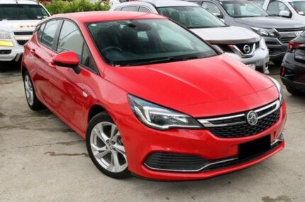 2016 Holden Astra BK MY17 RS Absolute Red 6 Speed Manual Hatchback