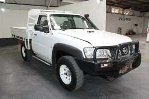 2007 Nissan Patrol GU MY08 DX (4x4) White 5 Speed Manual Cab Chassis Pennington Charles Sturt Area Preview