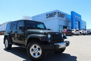 2015 Jeep Wrangler Unlimited Sahara - Nav, Remote Start, Power P