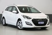 2014 Hyundai i30 GD Tourer Active 1.6 GDi White 6 Speed Automatic Wagon Bentley Canning Area Preview