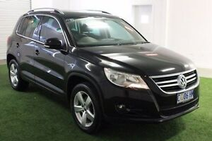 2011 Volkswagen Tiguan 5N MY11 147TSI DSG 4MOTION Black 7 Speed Sports Automatic Dual Clutch Wagon Moonah Glenorchy Area Preview