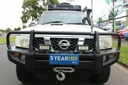 2007 Nissan Patrol GU 5 MY07 DX White 4 Speed Automatic Wagon West Footscray Maribyrnong Area Preview