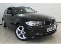 2009 59 BMW 1 SERIES 2.0 118D SPORT 3DR 141 BHP DIESEL