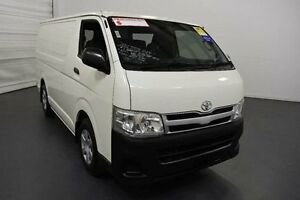 2012 Toyota Hiace KDH201R MY12 Upgrade LWB French Vanilla 4 Speed Automatic Van Moorabbin Kingston Area Preview