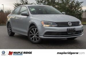 2016 Volkswagen Jetta Sedan Comfortline LEATHER INTERIOR, SUNROO