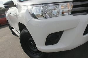 2015 Toyota Hilux GUN136R SR Double Cab Hi-Rider Glacier White 6 Speed Manual Utility Windsor Hawkesbury Area Preview