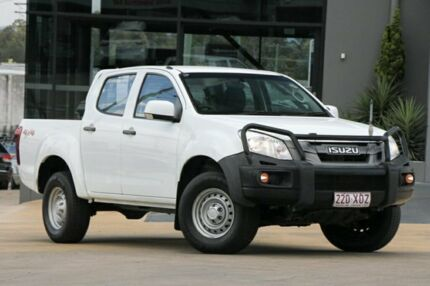 2014 Isuzu D-MAX MY14 SX Crew Cab White 5 Speed Manual Utility Moorooka Brisbane South West Preview