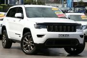 2016 Jeep Grand Cherokee WK MY16 75th Anniversary White 8 Speed Sports Automatic Wagon Penrith Penrith Area Preview