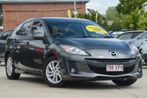 2012 Mazda 3 BL10F2 Maxx Sport Grey 6 Speed Manual Hatchback Toowoomba Toowoomba City Preview