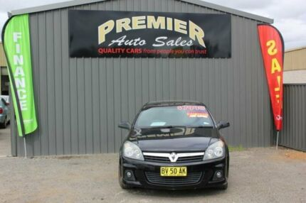 2006 Holden Astra AH MY06.5 SRI Black 6 Speed Manual Coupe Mitchell Gungahlin Area Preview