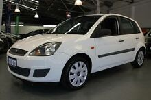 2006 Ford Fiesta WQ LX Diamond White 4 Speed Automatic Hatchback Victoria Park Victoria Park Area Preview