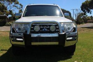 2014 Mitsubishi Pajero White Sports Automatic Wagon