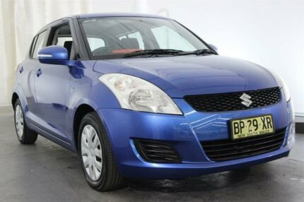 2012 Suzuki Swift FZ GL Blue 5 Speed Manual Hatchback Maryville Newcastle Area Preview