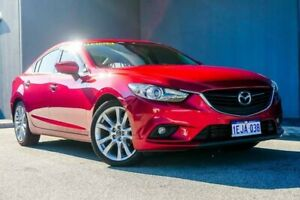 2013 Mazda 6 GJ1021 GT SKYACTIV-Drive Red 6 Speed Sports Automatic Sedan Osborne Park Stirling Area Preview