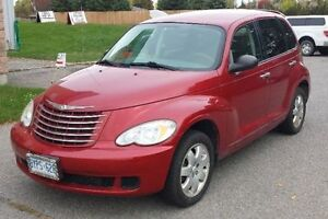 2007 Red Inferno Chrysler PT Cruiser Hatchback
