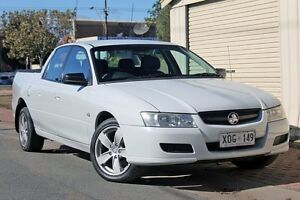 2006 Holden Crewman VZ MY06 White 4 Speed Automatic Utility Glenelg Holdfast Bay Preview