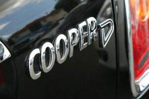 2010 Mini Hatch R56 LCI Cooper D Black 6 Speed Manual Hatchback