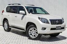 2012 Toyota Landcruiser Prado KDJ150R VX White 5 Speed Sports Automatic Wagon Embleton Bayswater Area Preview