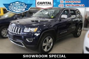 2016 Jeep Grand Cherokee Limited 4WD *Leather-Sunroof-Navigation
