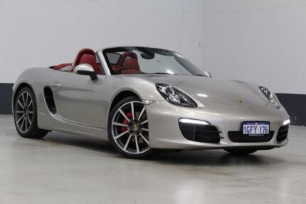 2013 Porsche Boxster 981 MY13 S Silver 7 Speed Auto Dual Clutch Roadster Bentley Canning Area Preview