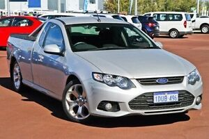 2011 Ford Falcon FG XR6 Super Cab Silver 6 Speed Sports Automatic Cab Chassis East Rockingham Rockingham Area Preview