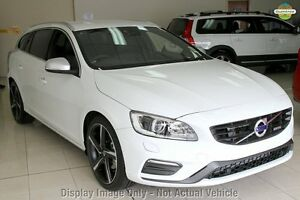 2016 Volvo V60 F Series T5 R-Design Crystal White Pearl 8 Speed Automatic Wagon Mount Gravatt Brisbane South East Preview