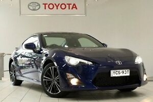 2015 Toyota 86 ZN6 GTS Gravity Blue 6 Speed Manual Coupe Waterloo Inner Sydney Preview