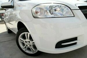 2011 Holden Barina TK MY11 White 5 Speed Manual Sedan Pennant Hills Hornsby Area Preview